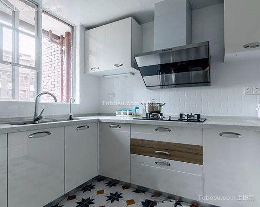 厨房白色细节现代简约风格装饰图片
