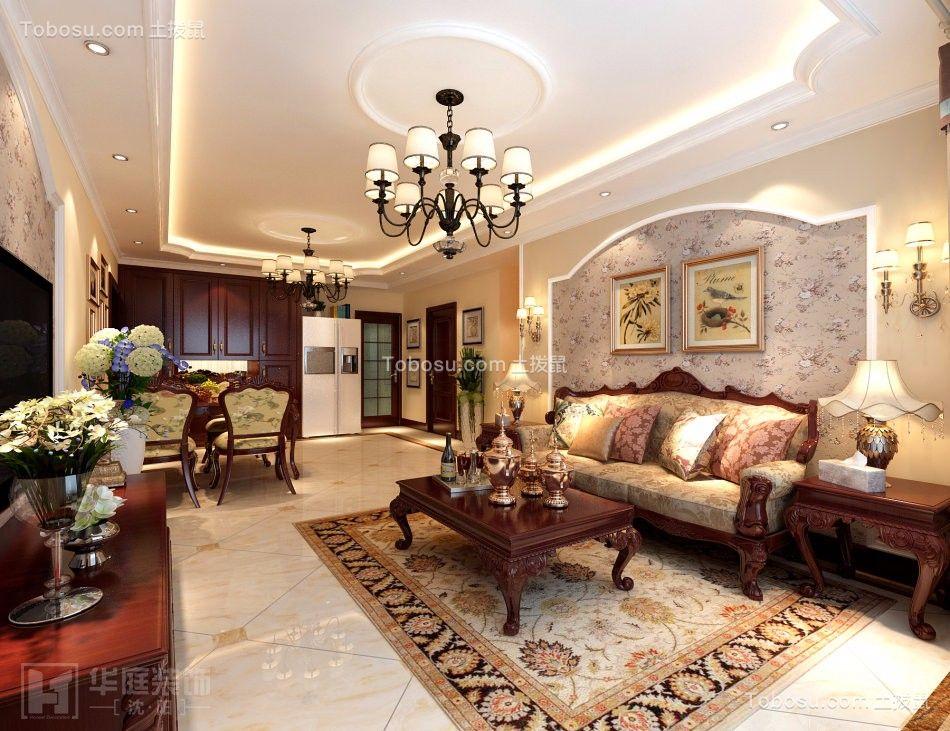 中海城欧式风格装修设计效果图