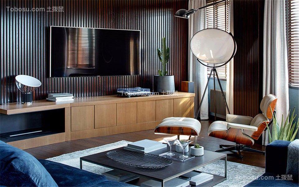 金陵大公馆111平米三室一厅一卫现代简约风格装修效果图