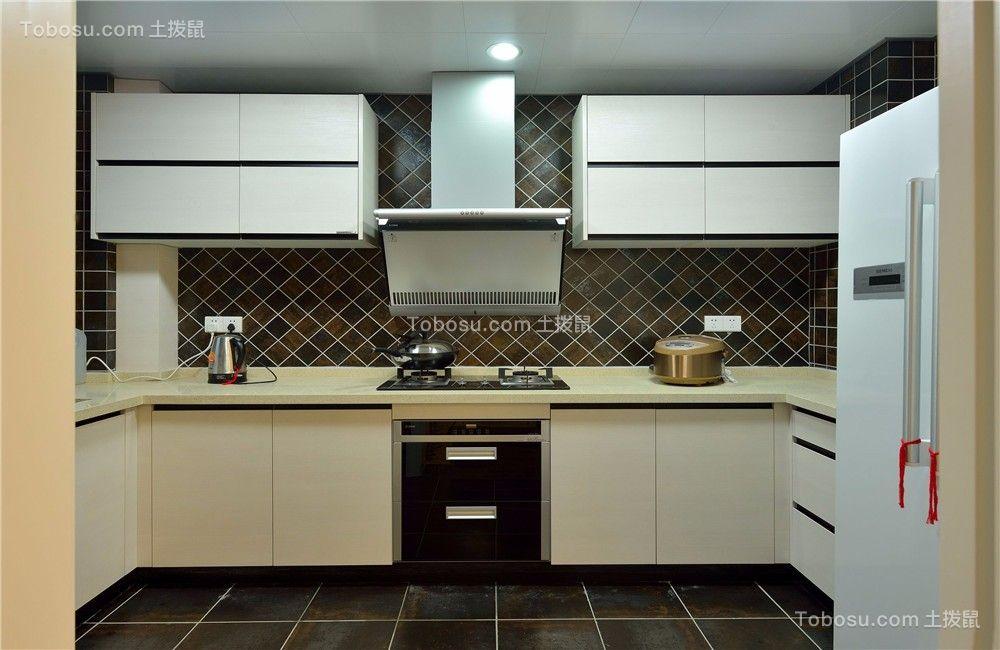 弘阳国际120平简美风格三居室装修效果图