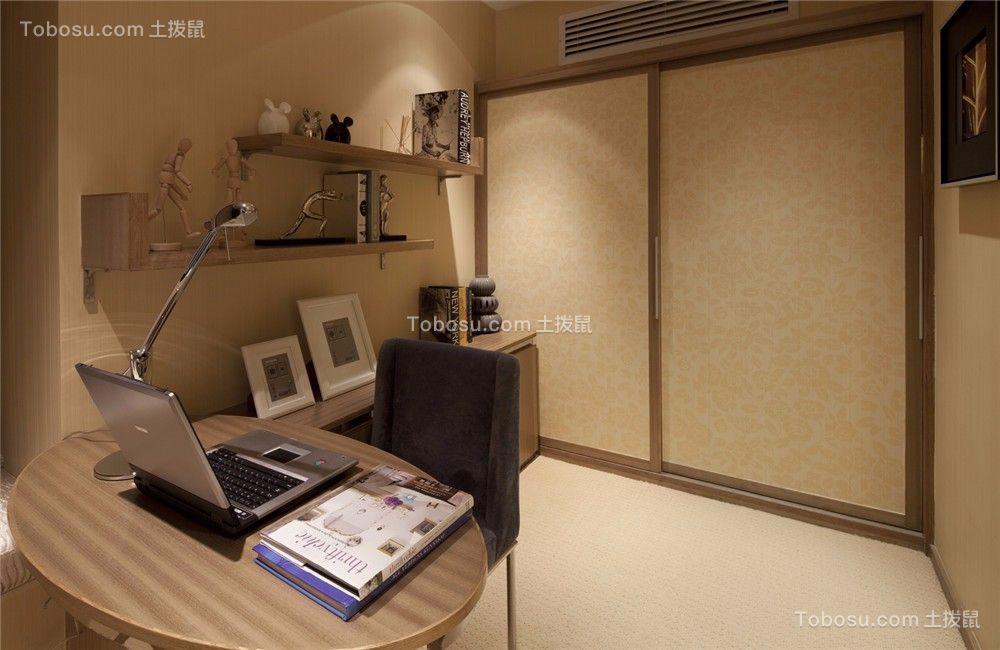 尚枫澜湾120平现代风格三居室装修效果图