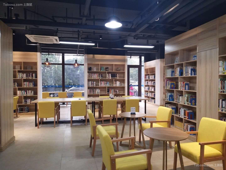 室内阅览区装修效果图