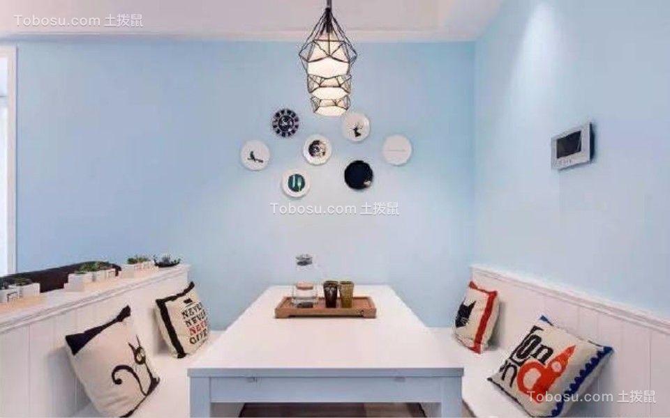 餐厅 餐桌_80平东城美居两室一厅美式装修效果图