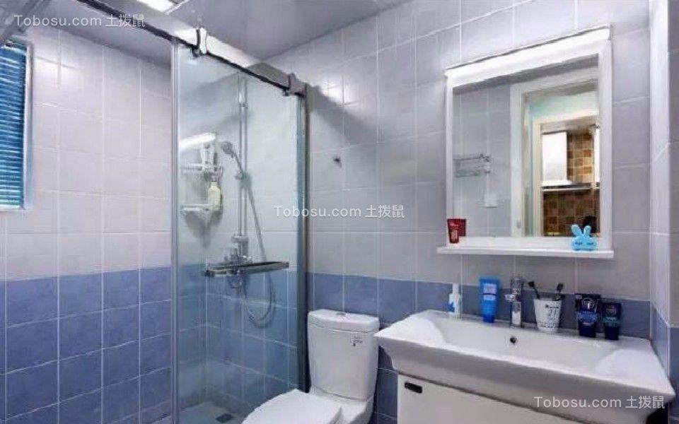 卫生间 洗漱台_80平东城美居两室一厅美式装修效果图