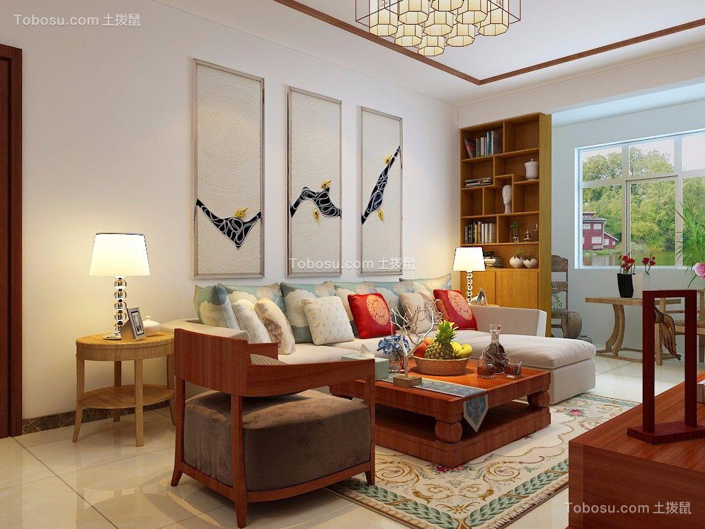 梦世界120平三居室中式装修效果图