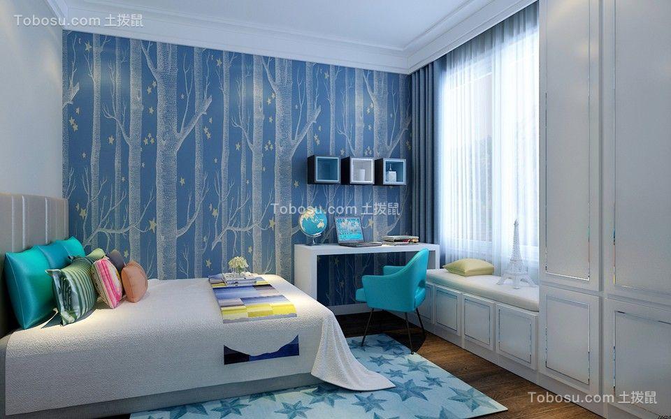 2019北欧卧室装修设计图片 2019北欧窗帘装修效果图片