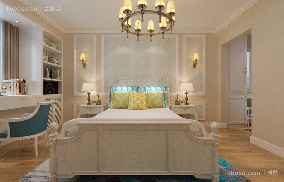 益田硅谷115平混搭风格三居室装修效果图