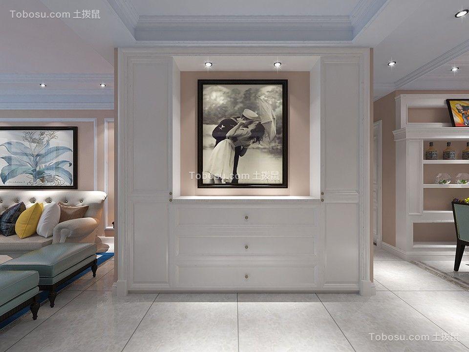 万达文华公馆145平简美三居室装修效果图