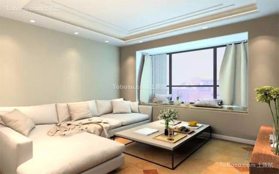 7.8万81平米简约风格2室1厅装修装修效果图