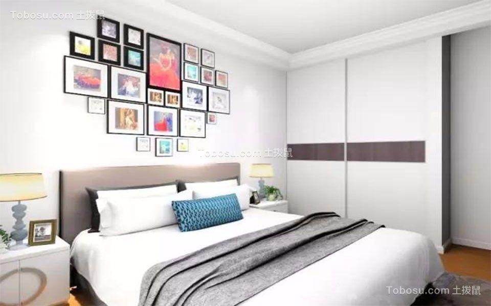烟台第一国际一品名宅81平米简约风格效果图