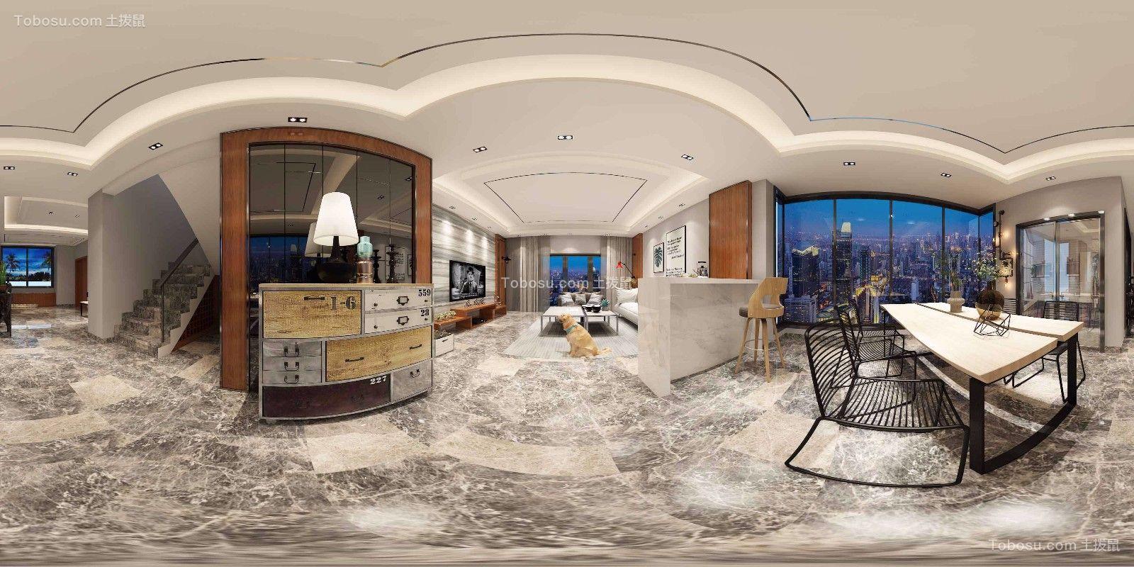 国际公馆现代风格别墅装修效果图