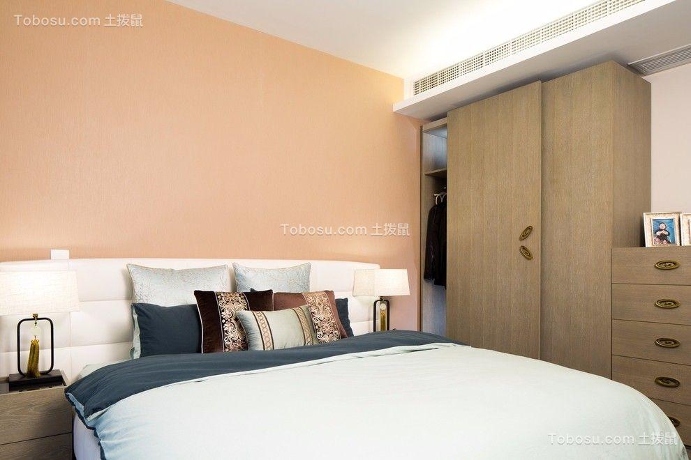 卧室 衣柜_国富沙磁巷混搭风格118平三居室装修效果图