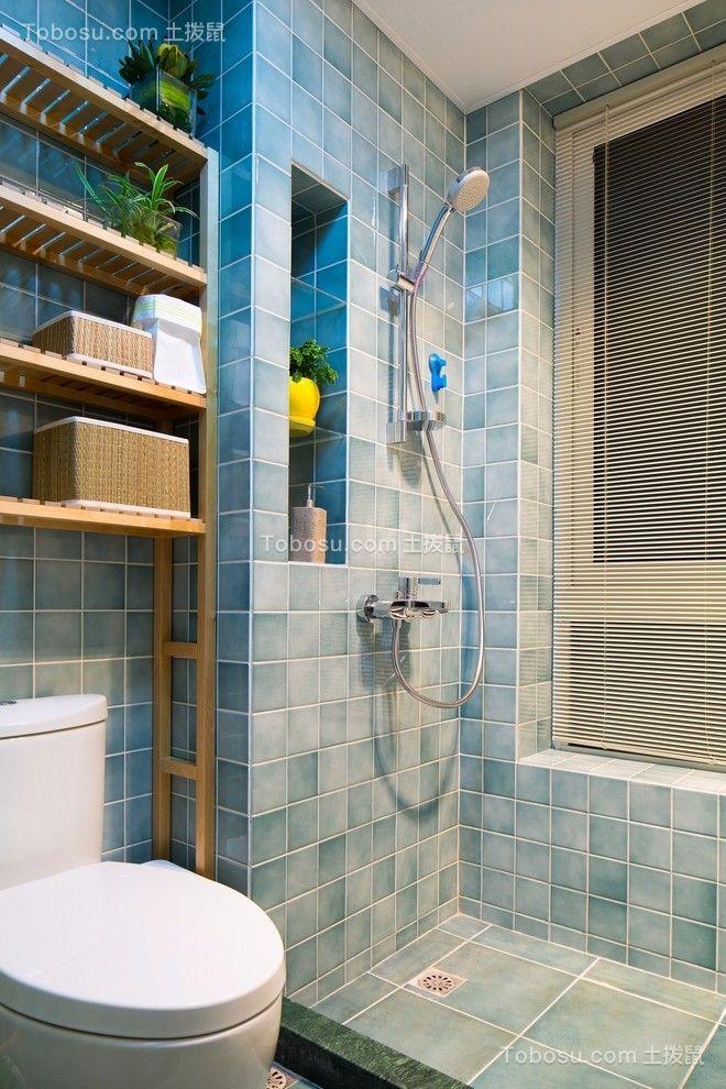 卫生间 吊顶_国富沙磁巷混搭风格118平三居室装修效果图
