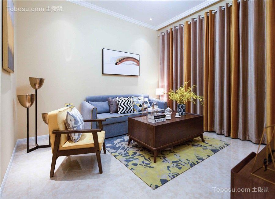 万科高新华府112平现代混搭风格三居室装修效果图