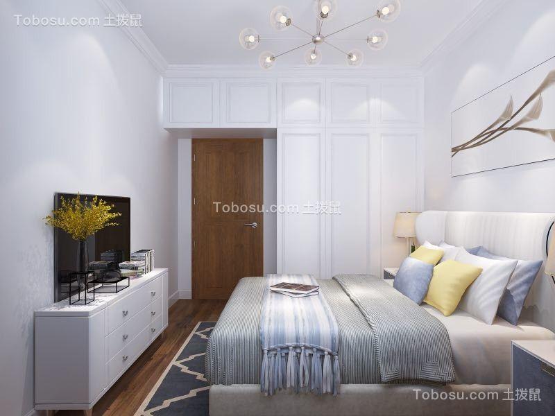 卧室 细节_怡新花园134平三居现代简约风格装修效果图