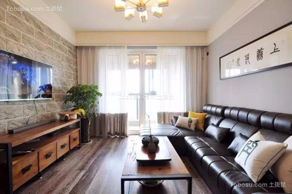 客厅 飘窗_中海凤凰熙岸观园88平简约风格三居室装修效果图