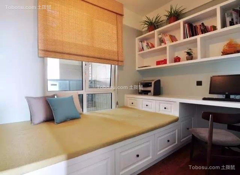 卧室 榻榻米_中海凤凰熙岸观园88平简约风格三居室装修效果图
