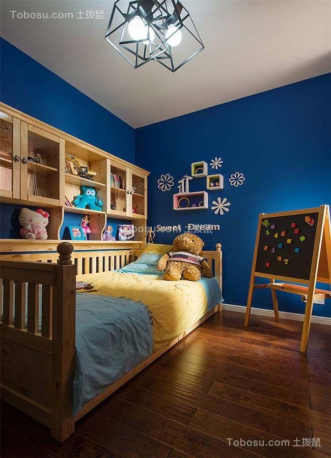 儿童房 床_王府花园三室两厅125平混搭装修效果图