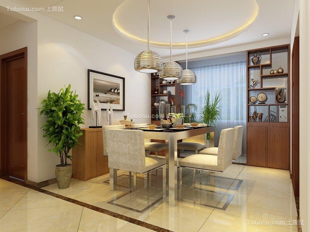 银丰公馆122平三居室现代简约装修效果图