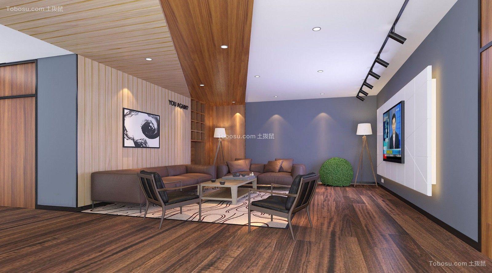 节能公司办公室装修设计案例