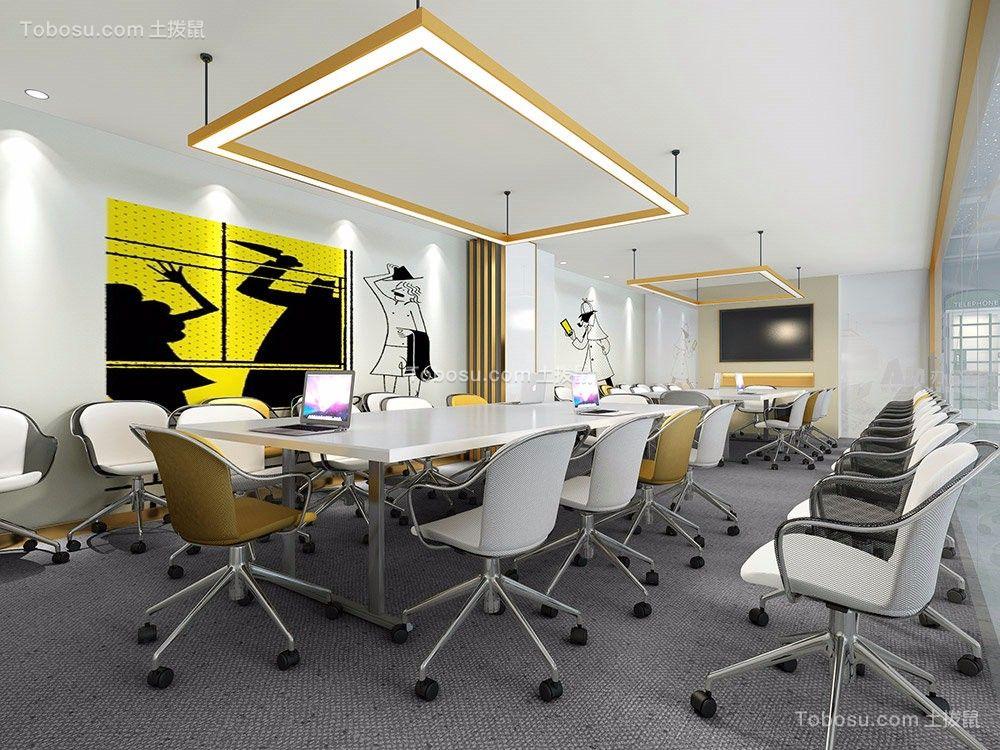 教育培训办公室装修设计案例