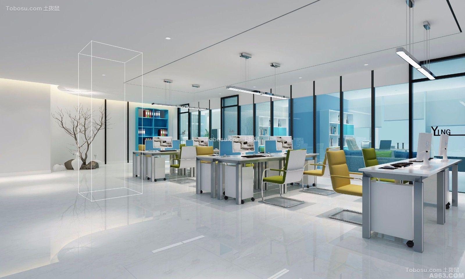 外贸公司办公室装修设计案例