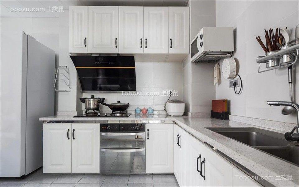 2019简约厨房装修图 2019简约橱柜装修效果图片