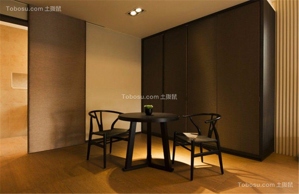 星河国际140平简约风格四居室装修效果图