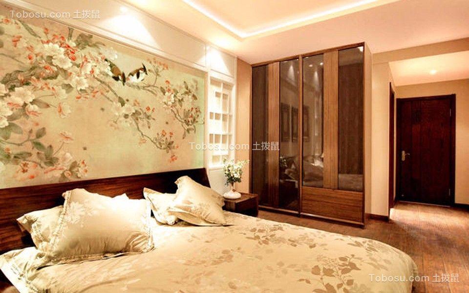 2019新中式卧室装修设计图片 2019新中式床图片