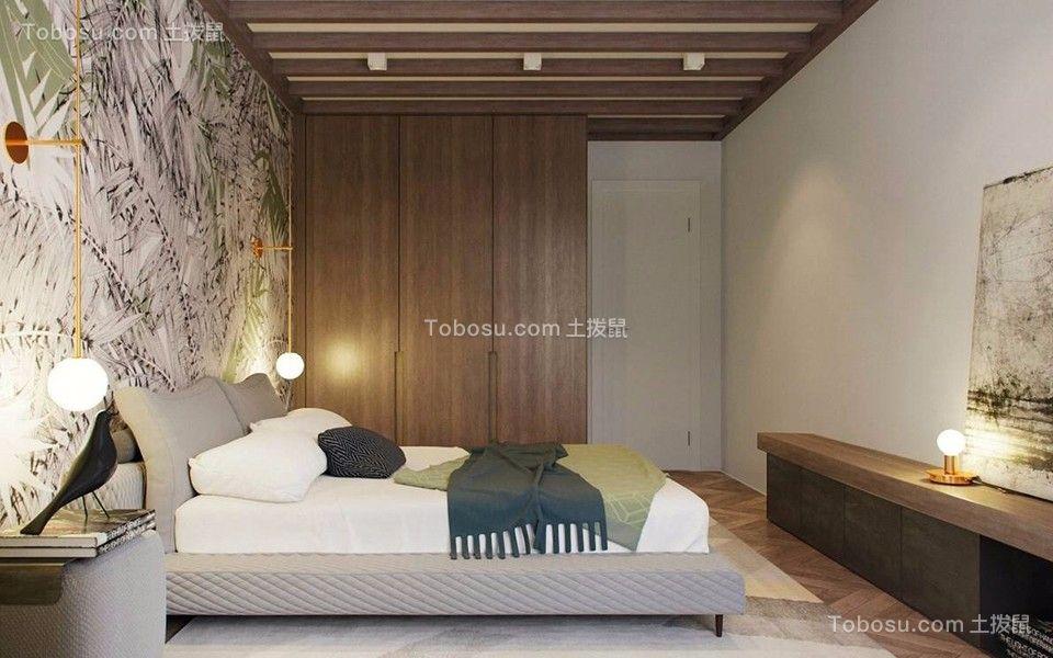 卧室床现代简约装修方案