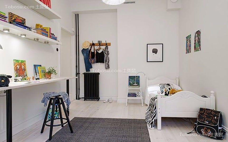 十里江山四居室140平北欧风格装修效果图