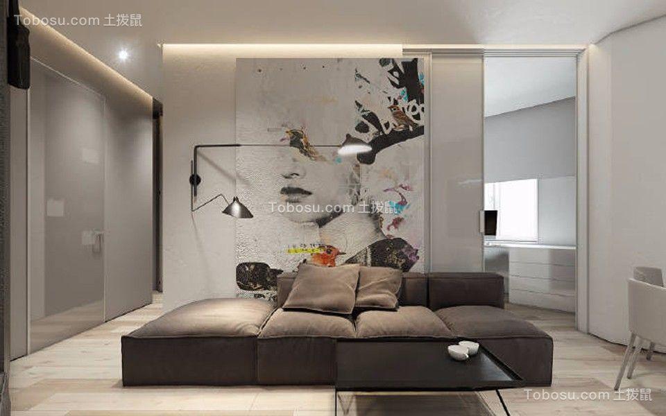现代风格40平米小户型新房装修效果图