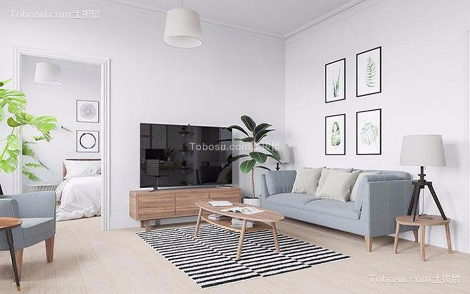 80~100m²/简约/三居室装修设计