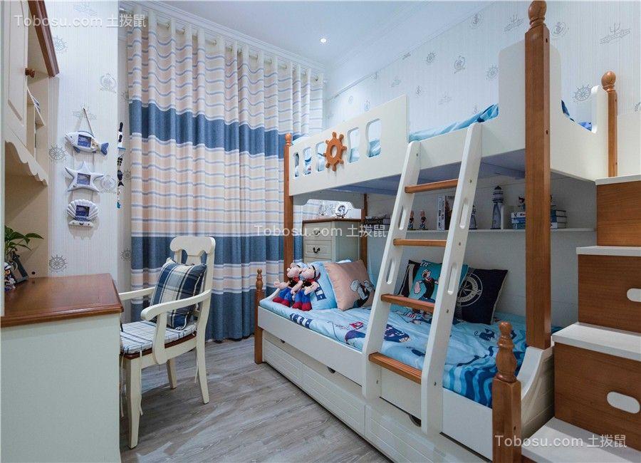 【众意装饰】融创天朗珑府134平地中海风格四室装修效果图