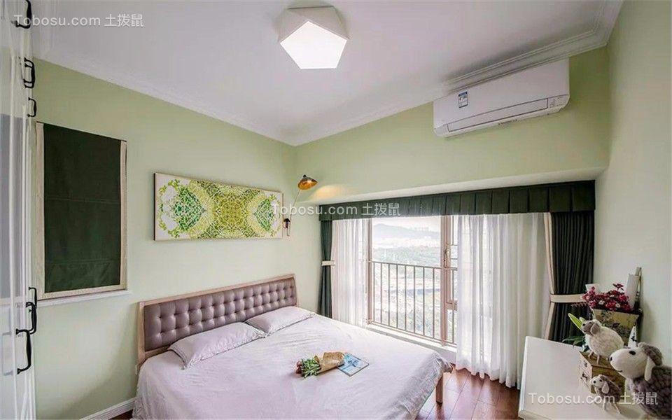 卧室 背景墙_古雄新居100平欧式风格三室两厅一卫装修效果图