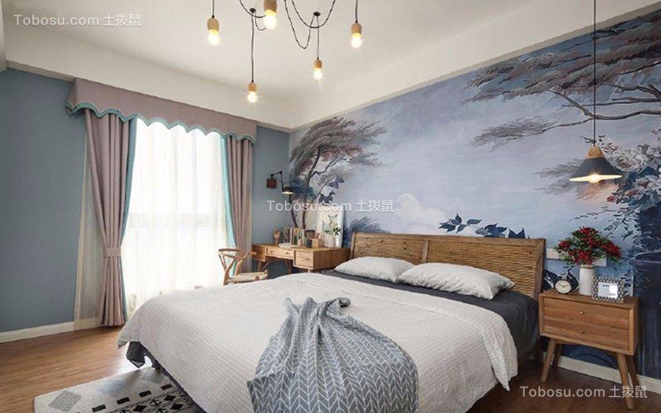 2018北欧卧室装修设计图片 2018北欧床图片