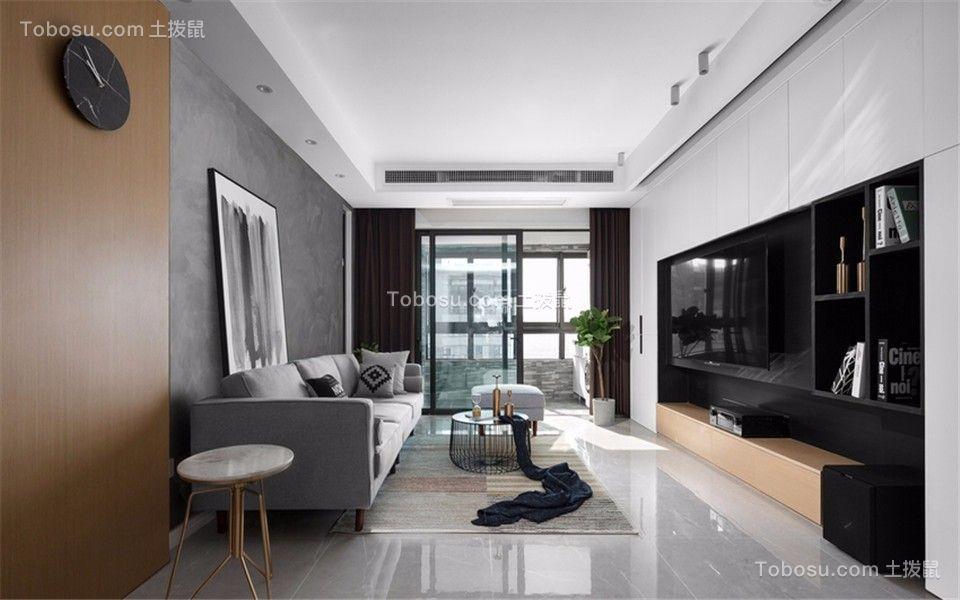 银城聚福园东苑园120平三室两厅两卫装修效果图
