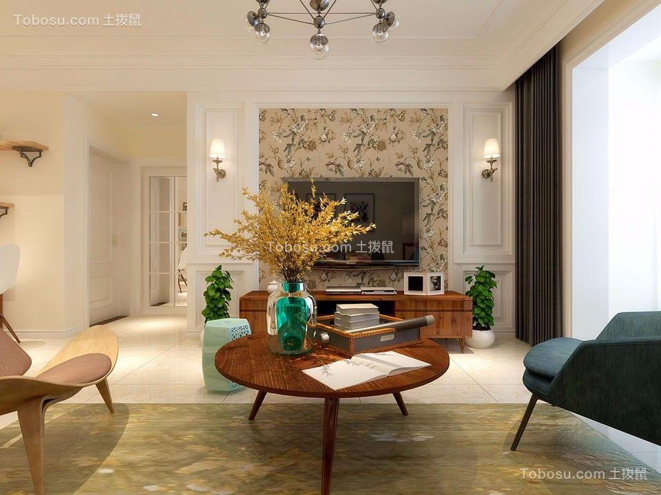 精致客厅现代简约平面图
