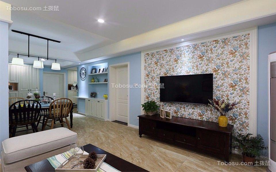 天一城126平米三室二厅现代简约风格装修效果图