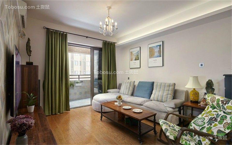 125平现代风格三室两厅装修效果图