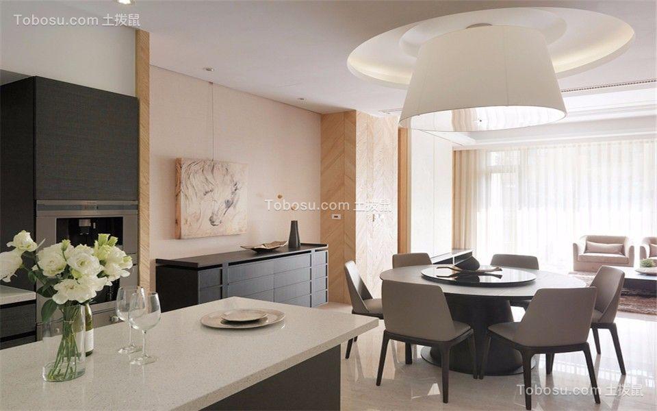中海塞纳丽舍西苑 138平现代三室两厅两卫装修小效果图