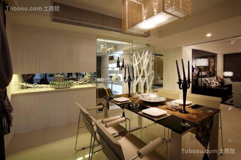 洛森堡270平米三居室现代简约风格装修效果图