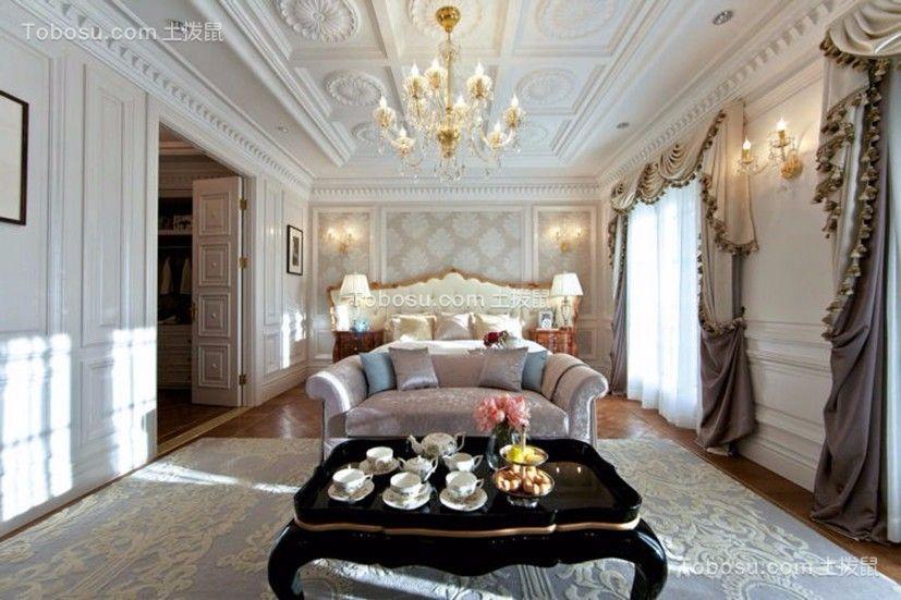 麓山国际社区 280平米四居室欧式风格装修效果图