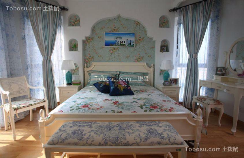 仁和春天大道97平米地中海二居室装修效果图