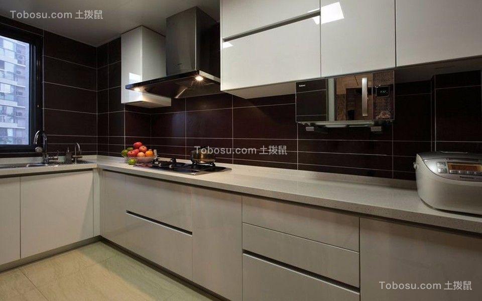 阳光城翡丽湾135平米现代三居装修效果图