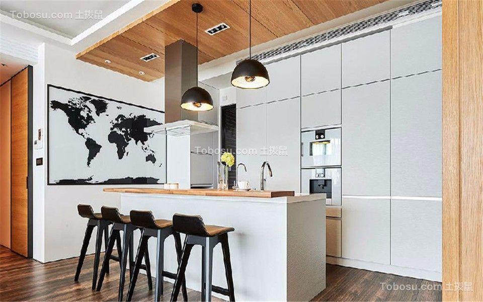 厨房 橱柜_欧式风格122平米三室两厅新房装修效果图