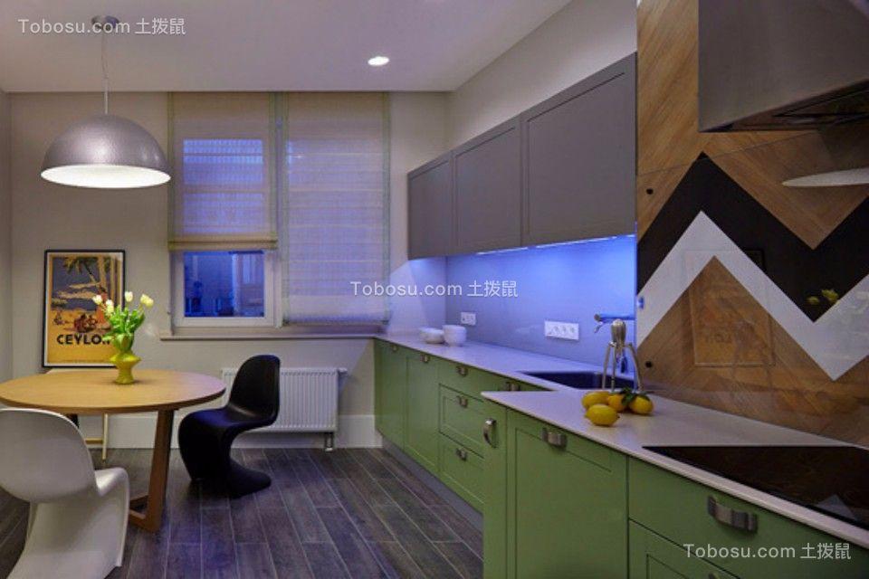 厨房 橱柜_新嘉小区两室一厅79平现代简约装修效果图