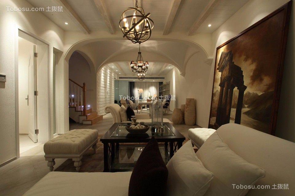 地中海风格200平米别墅新房装修效果图
