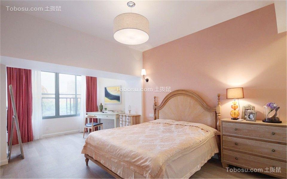 欧式风格95平米三室两厅新房装修效果图