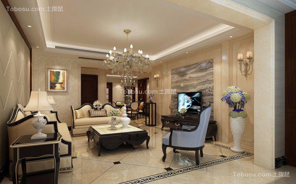新古典风格180平米四室两厅新房装修效果图